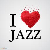 i love jazz heart sign