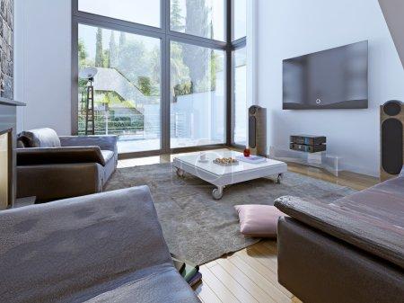 Modern sitting room design