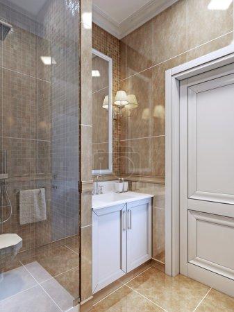 Small bathroom trend