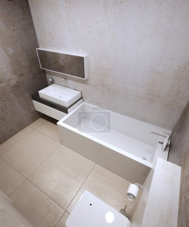Bathroom constructionism trend