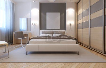 Master bedroom avangard design