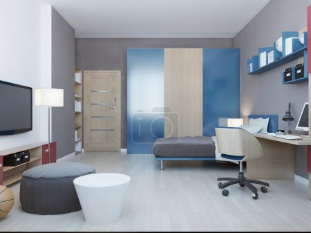 Contemporary children bedroom
