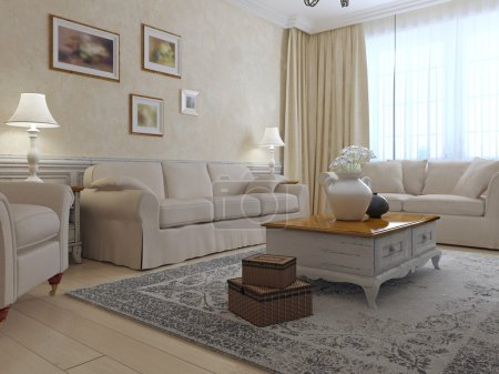 Provence lounge interior