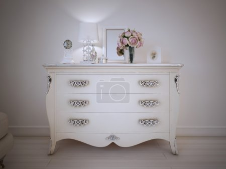 Vintage style console table