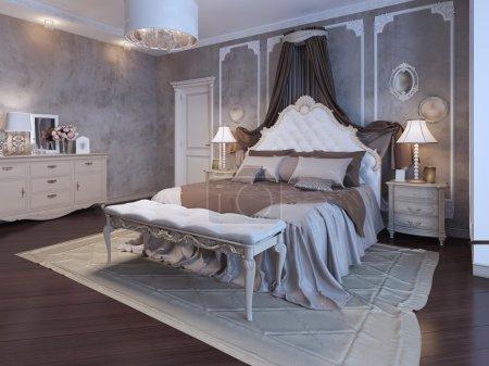 Master bedroom bohemian style