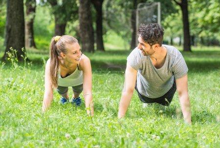 Push up training