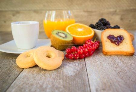 Healthy natural breakfast