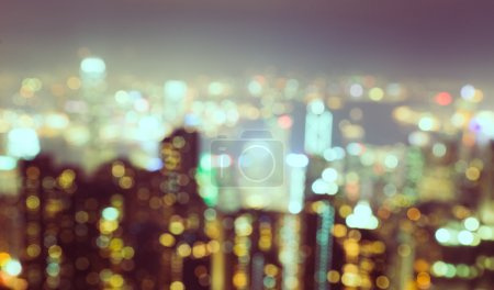 Foto de Concepto con fondo de ciudad borroso - Imagen libre de derechos