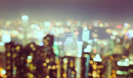 Foto de Concept with blurred city background - Imagen libre de derechos