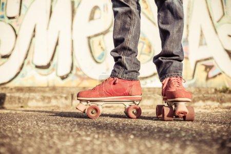 skater low part portrait