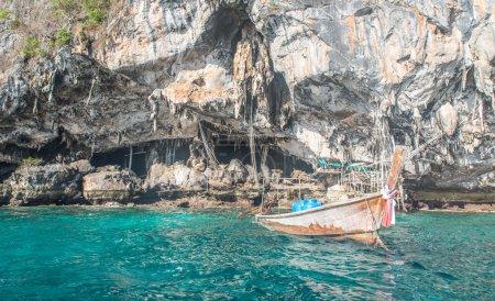 viking cave in phi phi island