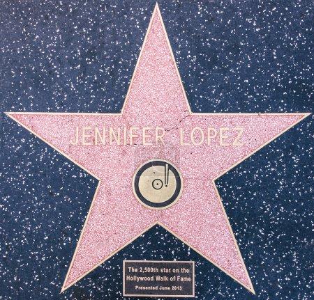 Дженнифер Лопес звезда