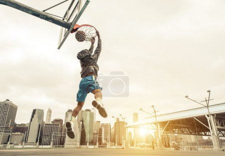 Basketball street player