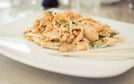 Food from thailand on pad thai