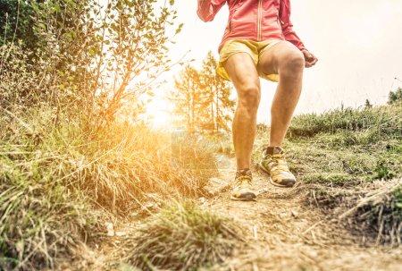 woman making workout