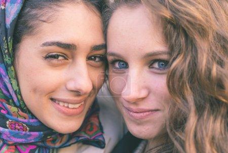 different ethnicity girls