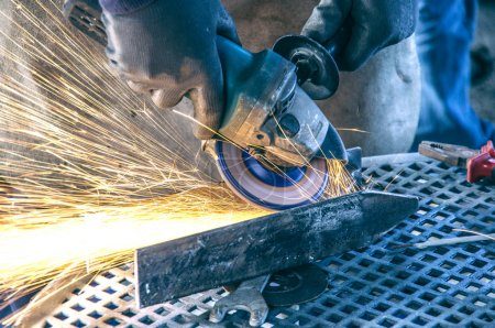 Mechanical worker repairs