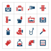 Set color icons of sewerage