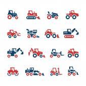 Nastavit barvu ikony traktorů