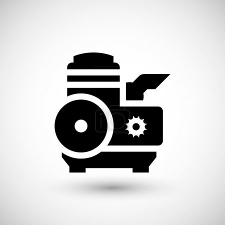 Motor and engine icon
