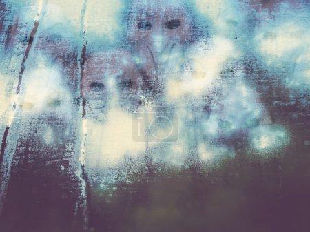 Diable derrière le verre brouillard