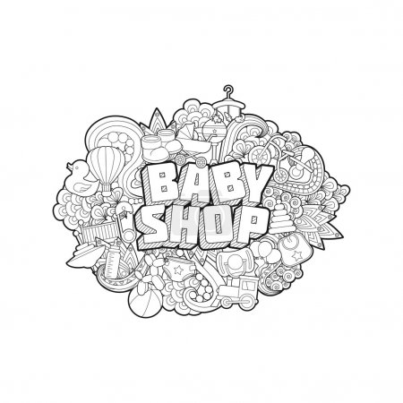 Baby Shop - Hand Lettering