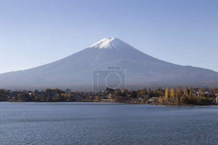 Mt.Fuji in autumn, Japan