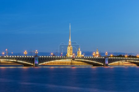 Peter and Paul Fortress at St.Petersburg, Russia
