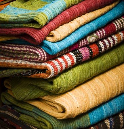 Stacks Of Carpets