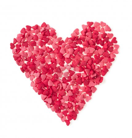 Pink and red Candies Hearts