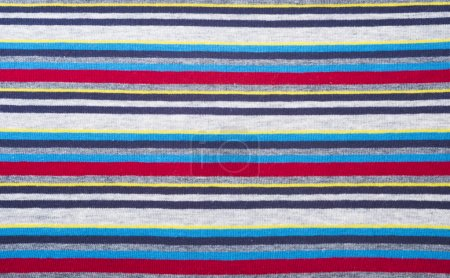 Knitted Striped Fabric Texture