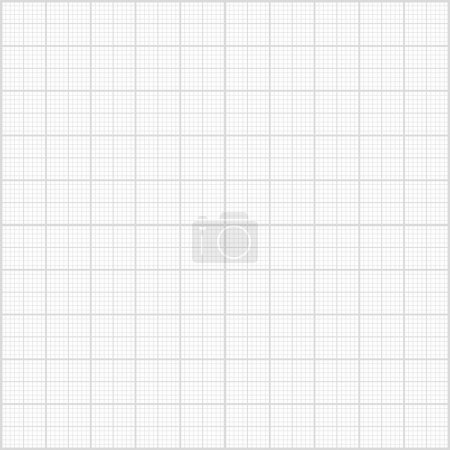 Illustration for Graph paper abstract background. - Royalty Free Image