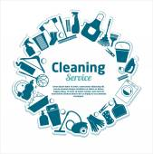 Cleaning services texture