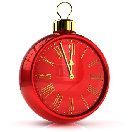 New Years Eve alarm clock midnight