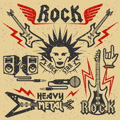 Rock music and heavy metal