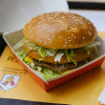 Moscow, Russia - 11.06.2020: McDonalds big mac bur...