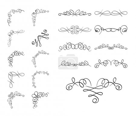 set of vector delimiters - curly elements