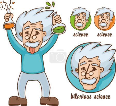 Funny scientists set