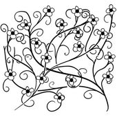 Seamless doodle floral pattern 2