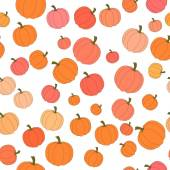 Autumn seamless pattern in vector image 5