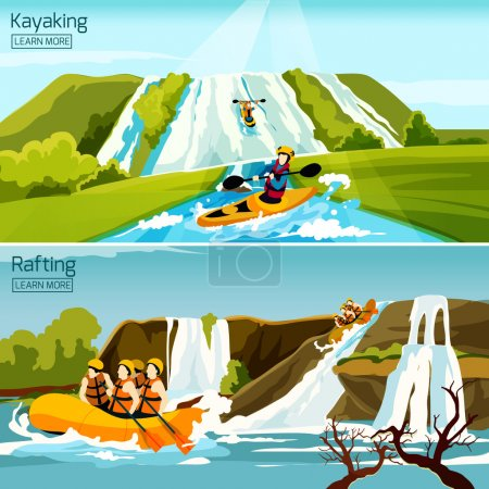 Rafting Canoeing Kayaking Compositions