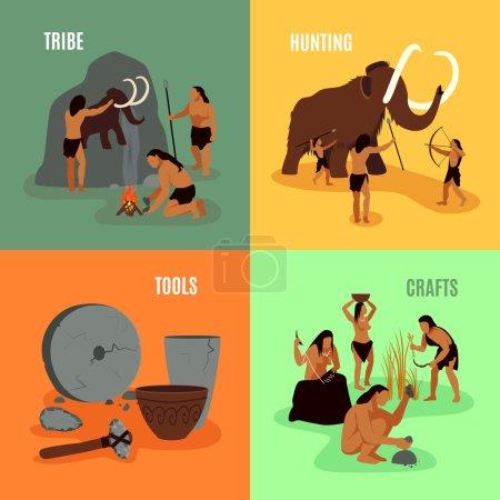 Prehistoric Stone Age 2x2 Images