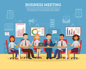 Üzleti megbeszélések, lakás