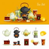 Tee-Symbole-set