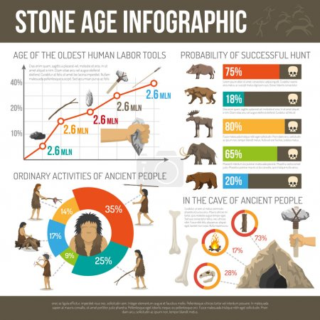 Stone Age Infographic