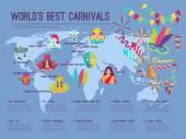 Carnival Illustration Infographic