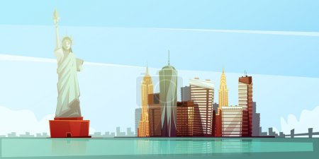 New York Skyline Design Concept
