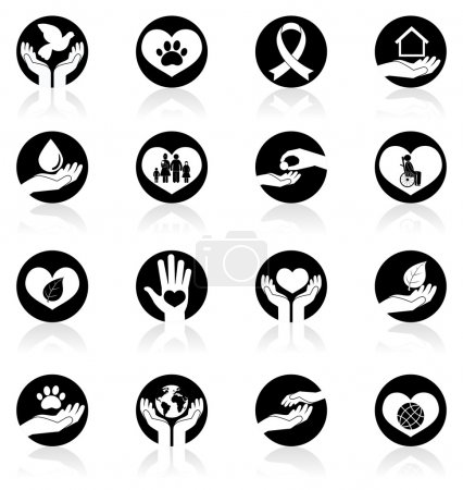 Charity and Donation Icons