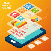 Isometric financial secure set