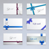 Gift cards set